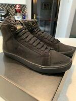 Saint Laurent Men's Classic Court SL06 Distressed Canvas Sneaker Black 40