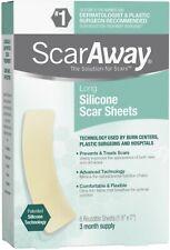 ScarAway Professional Grade Silicone Scar Sheets 6 ea