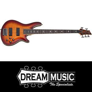 Schecter SCH2049 Omen Extreme-5 VSB 5 String Bass Guitar RRP$1249