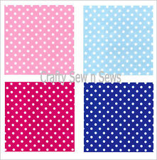 Polyester Cotton Spotted Fabric - Spots Material