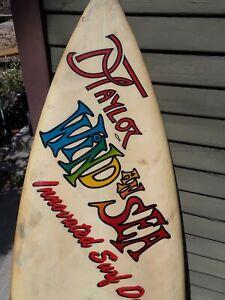 Vintage surfboard by Dan Taylor