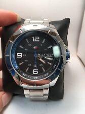 Tommy Hilfiger 1791002 Black Carbon Fiber Dial Stainless Steel Men's Watch-R3