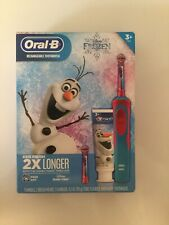 Oral-B Kids Frozen Rechargeable Electric Toothbrush Disney Olaf
