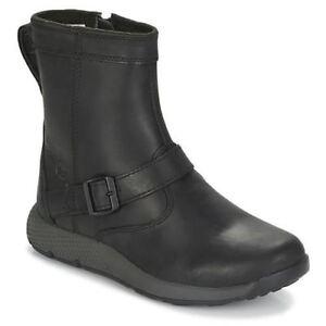 Timberland Metroroam  BLACK Leather ankle boot