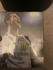 1 FIFA 18 ULTIMATE TEAM RONALDO Steelbook (NO GAME) for PS4 or XBOX ONE NEW