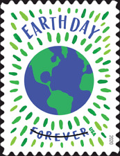 #5459 2020 Earth Day Single   - MNH