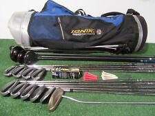 RH Mens Reg./Uniflex Flex CALLAWAY-TITLEIST-ODYSSEY Compete Golf Set-Woods-Irons