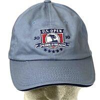 US OPEN 2010 PEBBLE BEACH OFFICIAL USGA MEMBER GOLF BALL CAP HAT ADJUSTABLE CAP