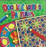 DOODLE COLOURING PATTERNS 80 PATTERNS FOR ALL AGES BOOK GREEN COVER FREE P/P