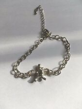 Window Cleaner TG320A Made In Fine English Pewter on a Anklet / Bracelet