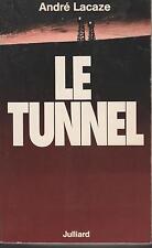 ANDRE LACAZE Le Tunnel + PARIS POSTER GUIDE