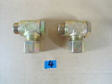 2x Hydraulik Schwenkverschraubung 12S Einschraub-Gewinde M18x1,5