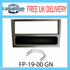 FP-19-00 GN Vauxhall Corsa Gunmetal Fascia Facia Adaptor Panel Surround PC5-110