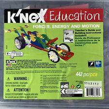 K'nex Education Stem Building Forces Energy And Motion 442pc