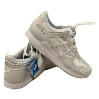 New Asics Gel-Lyte III GS C5A4N 0101 Women's Shoes Sneakers Trainers White US 4