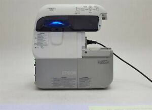 Epson PowerLite 485W 3LCD WXGA UST Short Throw 3100 Lm HDMI Projector 6914 Hrs