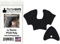 Tractiongrips grip tape overlay for Taurus PT-22 Poly / polymer frame PT22 grips