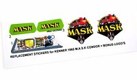 MASK stickers for KENNER M.A.S.K CONDOR Personalized + BONUS