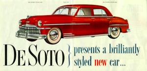 1949 1950 DeSoto 4 Door Sedan Complete Weatherstrip Kit!