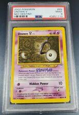 Pokemon PSA 9 Unown V Non-Holo Neo Destiny Gem Mint 89/105