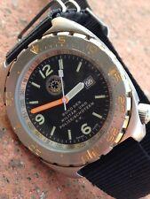 North Eagles MILITAR UND POLIZEI Vintage Military Quartz Diver Watch Eta F05.111