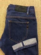 Mens BEN SHERMAN Selvedge W31 L33 Rampton Selvage Blue Denim Jeans Superb