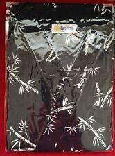 """Men Bamboo Art Kimono Yukata Cotton Japanese Bathrobe Robe Gown Sleepwear 57"""" Lg"""