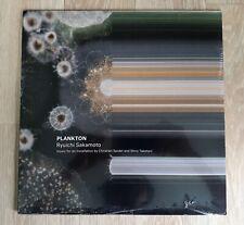 RYUICHI SAKAMOTO Plankton LP Vinyl LTD Numbered 500 Copies Sealed RARE!!