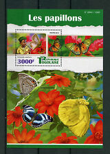 Togo 2015 MNH Butterflies 1v S/S Insects Common Smoky Blue Butterfly