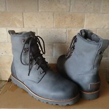 UGG HANNEN TL METAL GRAY WATERPROOF LEATHER WINTER BOOTS SHOES SIZE US 13 MENS