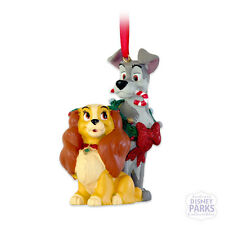 Authentic Disney Parks Lady And The Tramp Ornament Holiday Christmas