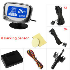 """1.8"""" LCD Display Rear&Front View Car Parking Sensors Dual CPU System Voice alert"""