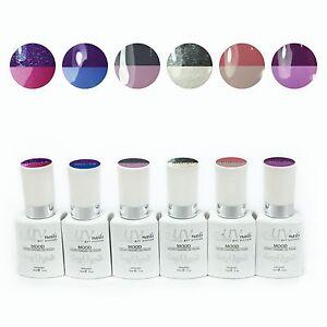 UV-Nails Estado de Ánimo Cambia Gel Pulir Colores - Set 6 Edición Limitada!
