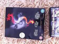 DVD Trilogy - Girl with a Dragon Tattoo Played with Fire Hornets Nest