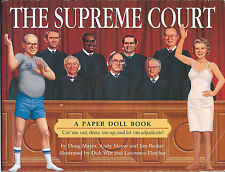 1993 The Supreme Court – Paper Doll Book (Uncut)