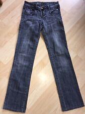 6de64ed751bc44 Mädchen Jeans Hose Marke Miss Vivi XS 34 grau - blau