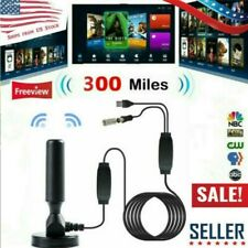 300 Mile Skywire 4K Antena Digital Indoor HDTV 1080p Range Antenna TV Digital