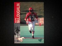 1995 REL CANADIAN FOOTBALL MARK MCLOUGHLIN #11 CALGARY STAMPEDERS CFL CARD FS