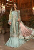 PAKISTANI INDIAN SHALWAR KAMEEZ SUIT ANARKALI BOLLYWOOD DRESS MARIA B ASIM JOFA