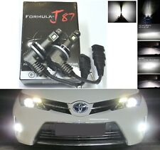 LED Kit M 60W H11 6000K White Two Bulbs Head Light Low Beam Replace Upgrade OE