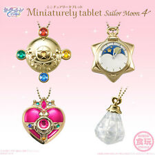 Miniaturely Tablet Sailor Moon Part 4 IV Set of 10 CANDY TOY Bandai Japan NEW