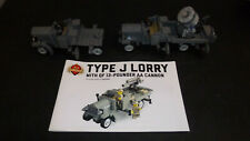Brickmania Type J Lorry MOC Lot of 2 Vehicles with 1 instruction book