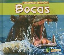 Bocas (Encuentra Las Diferencias!) (Spanish Edition)-ExLibrary