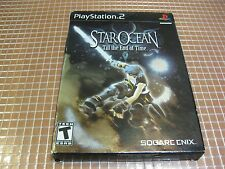 PS2 STAR OCEAN TILL THE END OF TIME NUEVO PRECINTADO USA NTSC