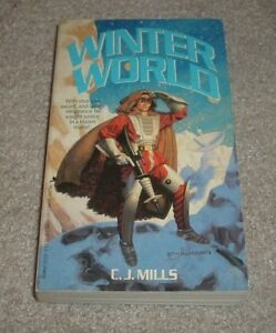 1988 WINTER WORLD C J Mills Cover Art by Tim Hildebrandt Sci Fi Paperback
