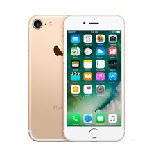 Apple IPHONE 7 128GB Oro Gold Roto Defectuoso Placa Madre Piezas de Repuesto
