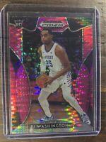 PJ WASHINGTON JR 2019-20 PANINI PRIZM Basketball Card PINK Hornets ROOKIE #14 RC