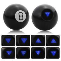 Magic Mystic 8 Ball Keyring Decision Maker Fortune Teller Magic novelty Toy gift