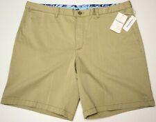 Tommy Bahama Mens Chino Boracay Shorts Khaki Tan Stretch NWT $99