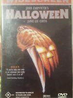 JOHN CARPENTER'S HALLOWEEN RARE DVD JAMIE LEE CURTIS 1978 CULT HORROR FILM MOVIE